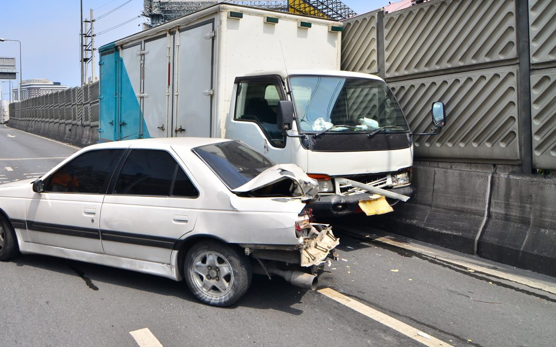 Delivery vehicle accident